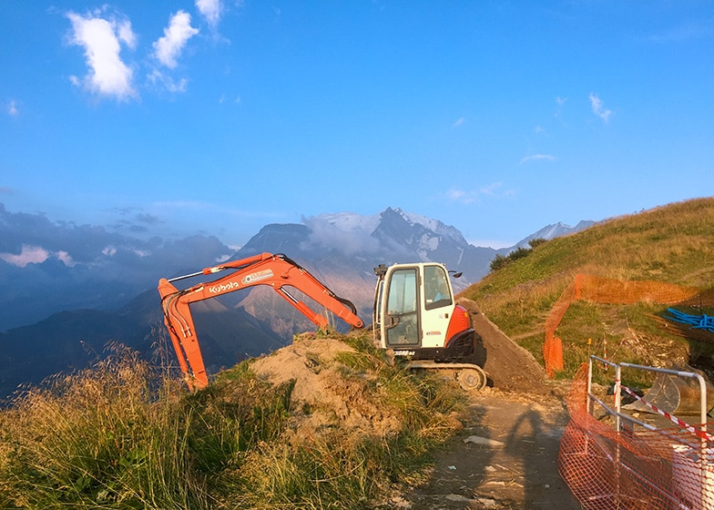 Travaux montagne PUGNAT TP Sallanches 74